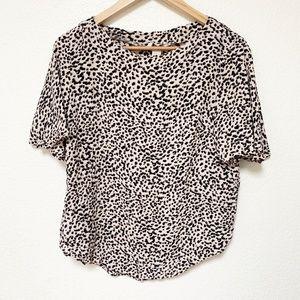 H&M | Women's Animal Print Blouse Size 10